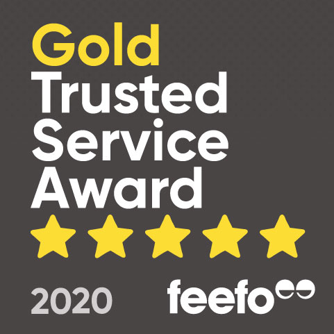 Gold Trusted Service Awards 2020